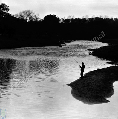 Fishing, River Wharfe, Arthington